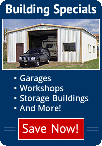 Steel Buildings Specials