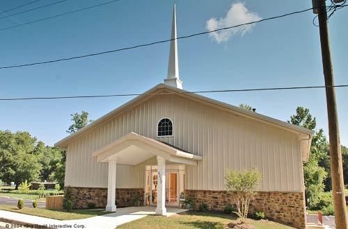 Metal Church Buildings Olympia Steel Buildings Of Canada