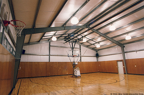 Recreational buildings olympia steel buildings of canada for How much is it to build a basketball gym