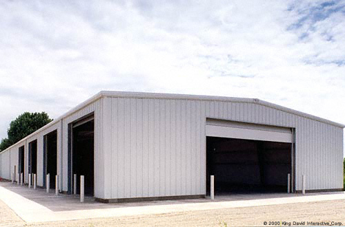 Mini storage gallery olympia steel buildings for Commercial garage plans