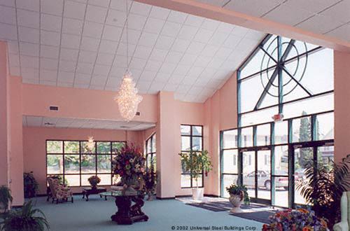 Church Gallery Olympia Steel Buildings
