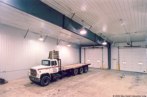 Truck Garages Olympia Steel Buildings Of Canada