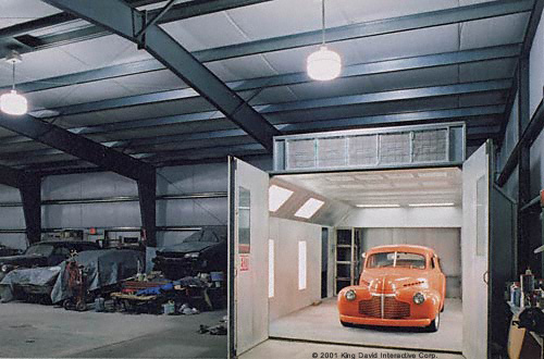 Small shops workshops for Best auto body paint shop