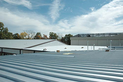 Standing Seam Roof Olympia Buildings Of Canada