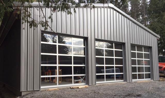 Steel Buildings Ontario >> Personal Garage Workshop In Caledon Ontario Olympia Steel