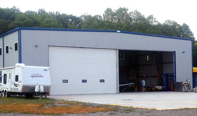 Recent Projects: Aircraft Hangars