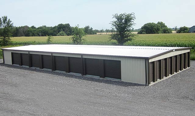 Recent Projects: Mini-Storage Buildings