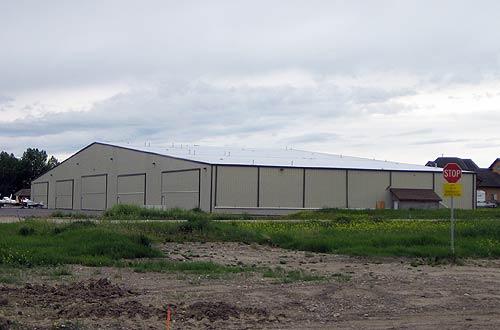 Aircraft Hangars Olympia Steel Buildings Of Canada