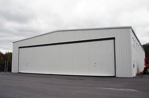 Aircraft Hangars | Olympia Steel Buildings of Canada